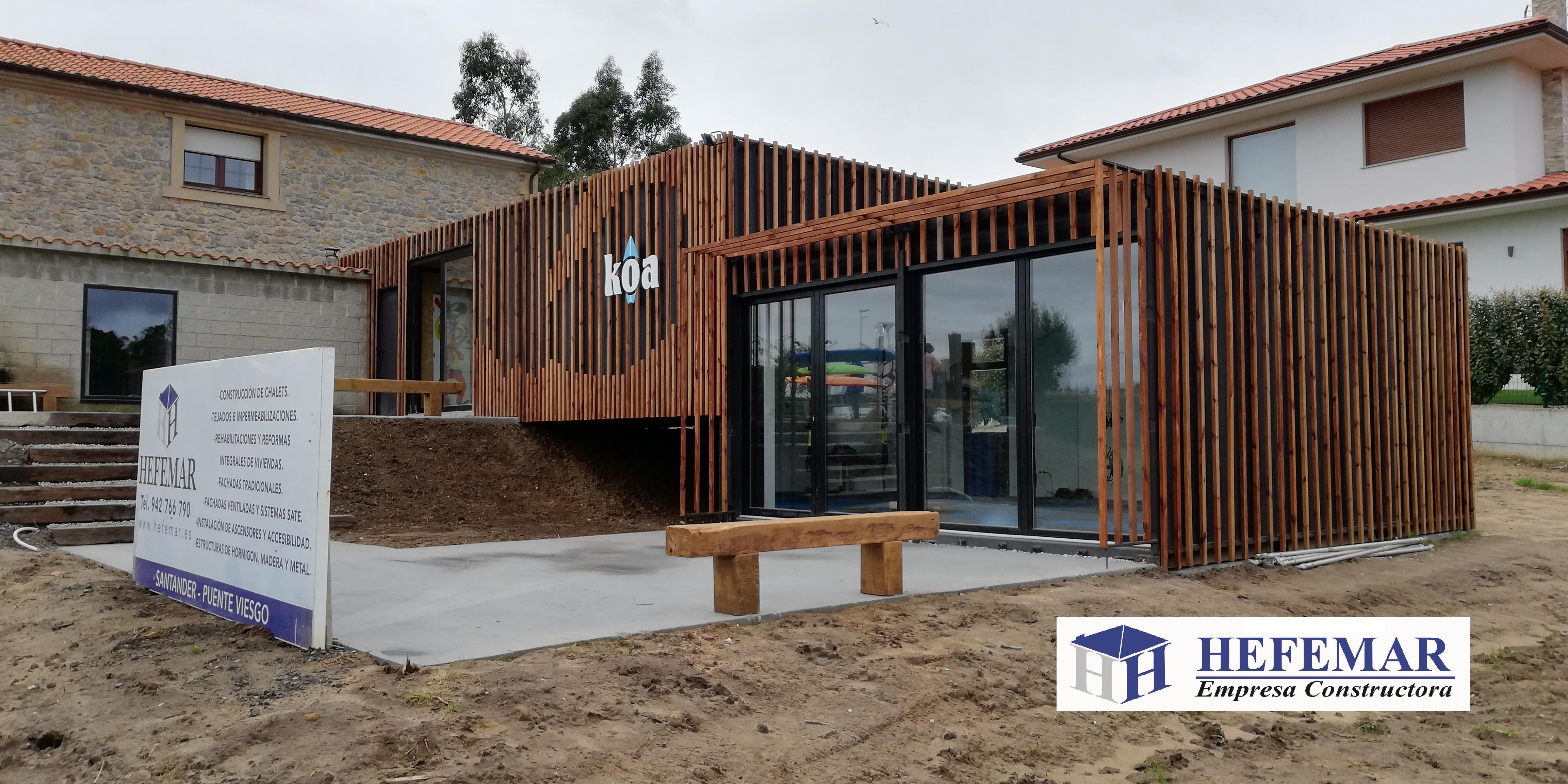 Construcci n con contenedores maritimos hefemar - Como hacer una casa con contenedores maritimos ...