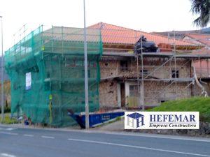 Reconstruccion de casas en Laredo