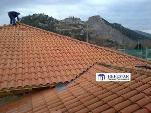 reforma de tejados en Puente Viesgo
